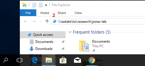 Connecting to LSS with Windows Explorer