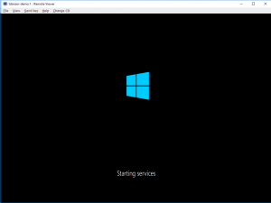 Windows 10 SysPrep Screen Shot