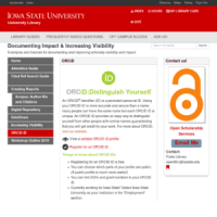 ORCID | University Library